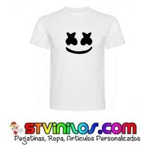 Imagen  camiseta marshmello fortnite