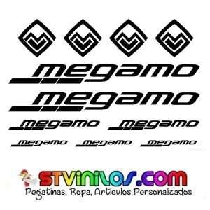 Imagen producto Pegatina megamo casco cuadro 1