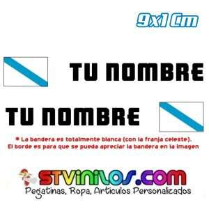Imagen nombre con bandera Galicia