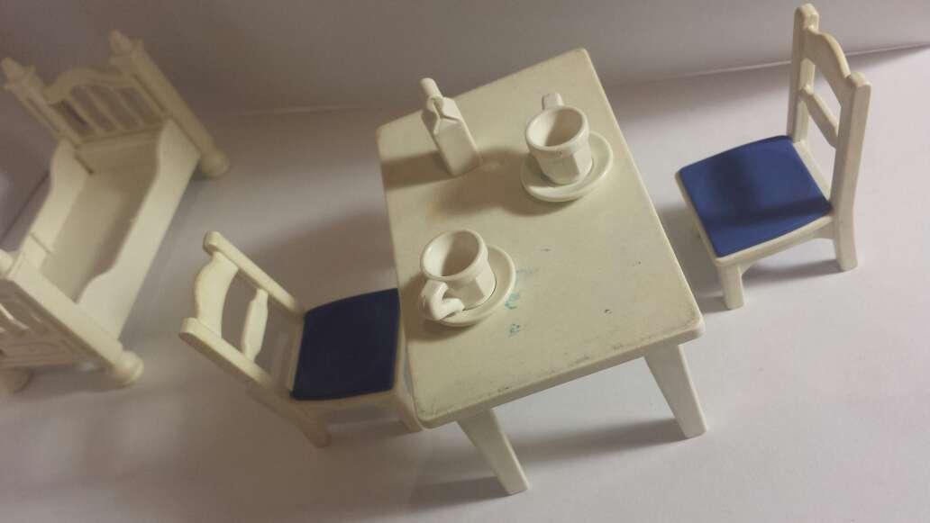 Imagen producto Amueblado playmobil en blanco  2