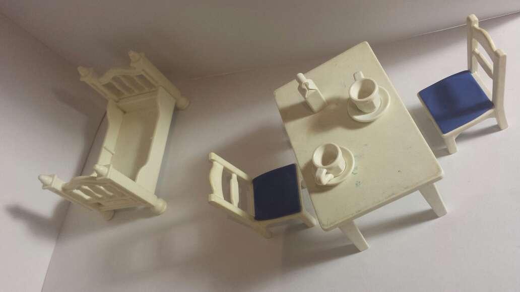 Imagen producto Amueblado playmobil en blanco  3