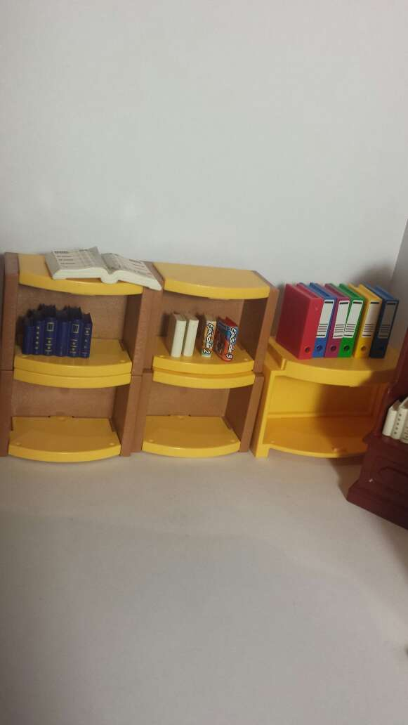 Imagen producto Playmobil pizarra ,muebles y libros 4