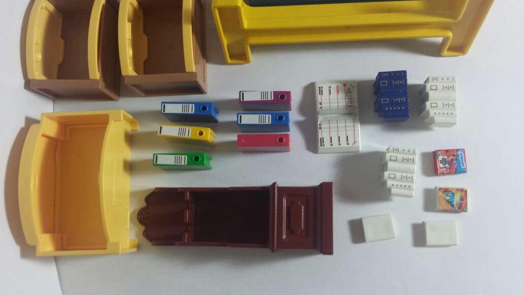 Imagen producto Playmobil pizarra ,muebles y libros 7