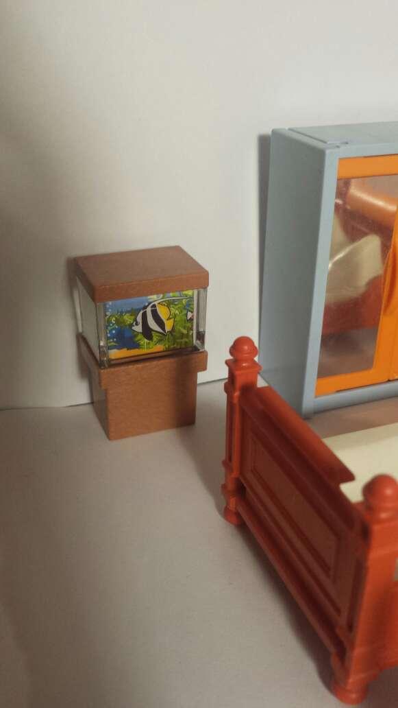 Imagen producto Habitación playmobil y pecera  6