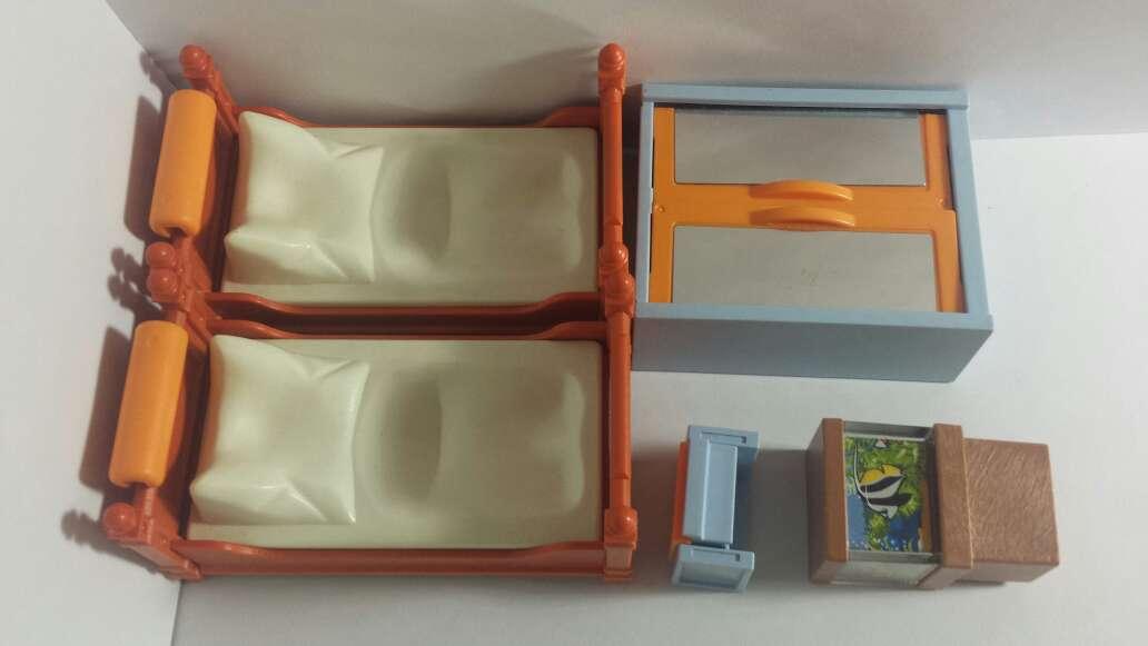 Imagen producto Habitación playmobil y pecera  7