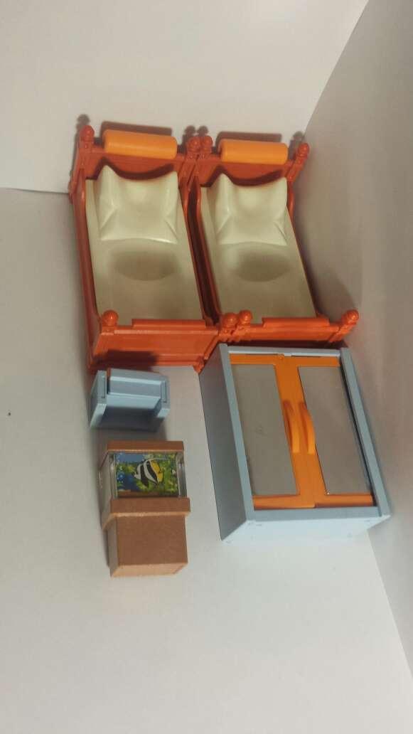 Imagen producto Habitación playmobil y pecera  8