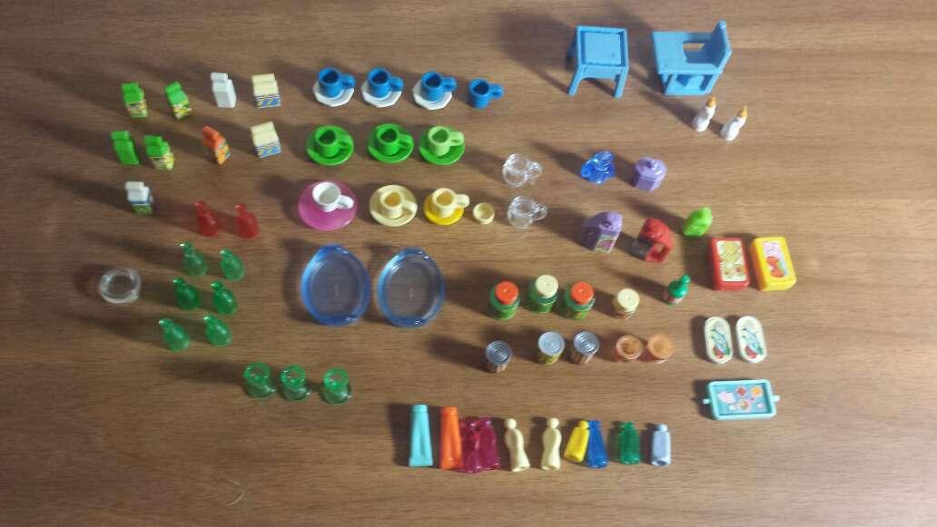 Imagen 79 piezas playmobil
