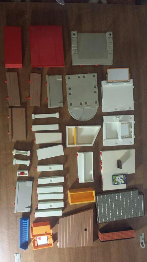 Imagen 34 piezas de playmobil diversas