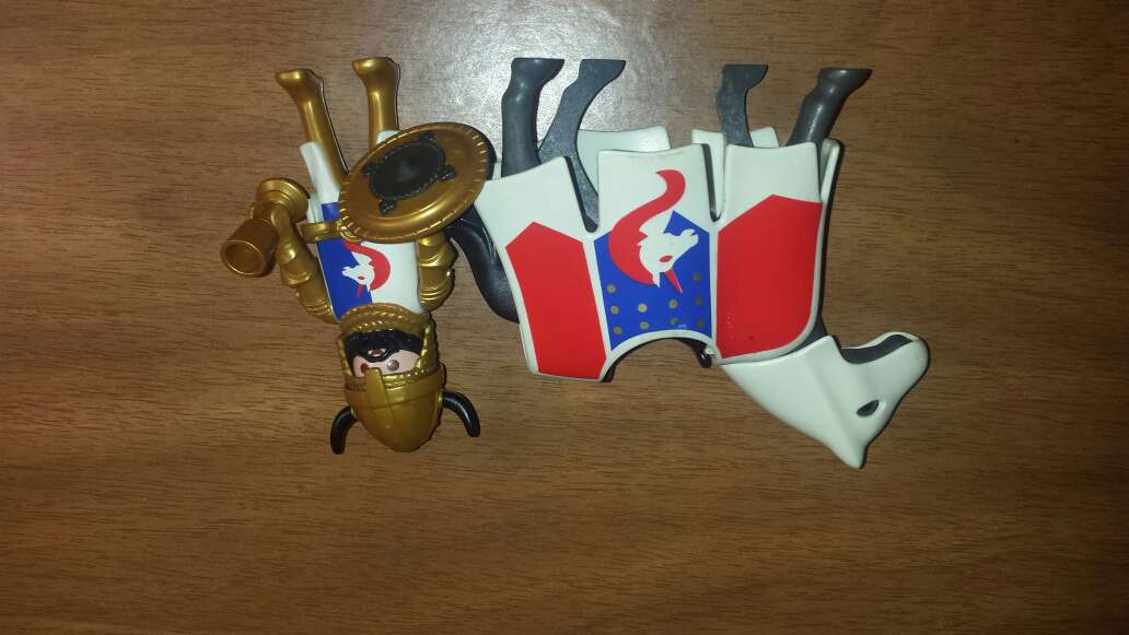 Imagen producto Caballero y caballo playmobil  3