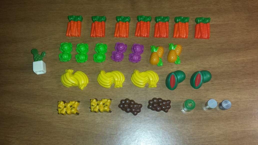 Imagen frutas verduras playmobil