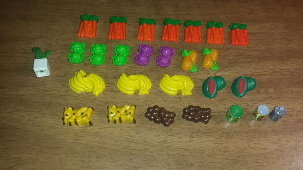 Imagen producto Frutas verduras playmobil  2