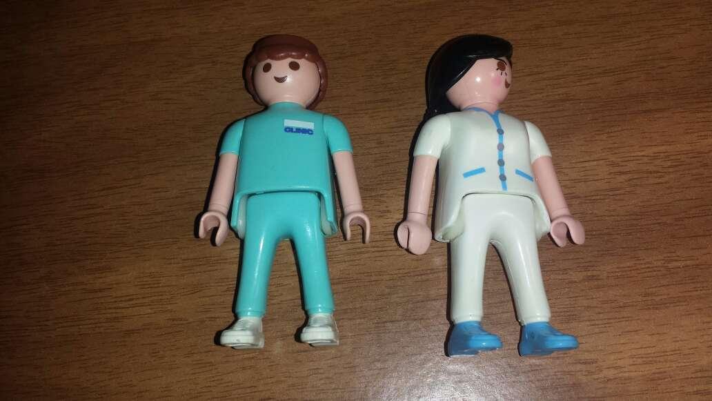 Imagen producto Playmobil pareja hospital  2