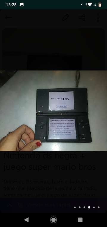 Imagen producto Consola Nintendo DS 3