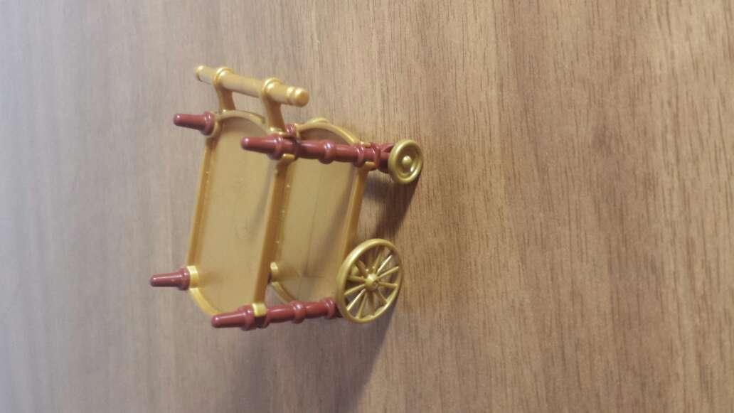 Imagen carro de cocinero victoriana