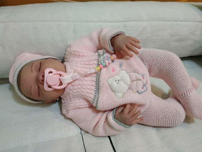 Imagen producto Bebé reborn dormida 4
