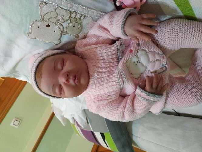 Imagen producto Bebé reborn dormida 3