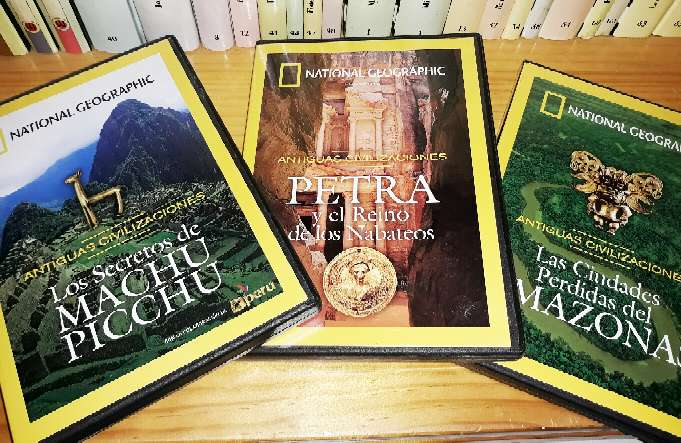 Imagen DVDs National Geographic