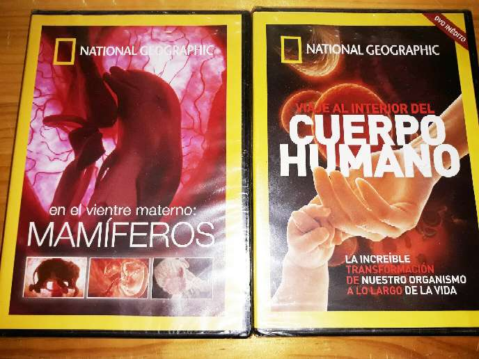Imagen 2 DVDs Nuevos National Geographic
