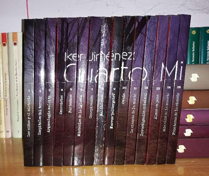 15 DVDs-Libros Cuarto Milenio en Sabiñánigo - WENDOO