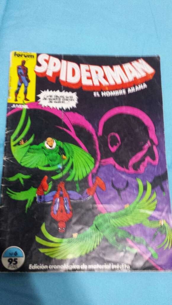 Imagen cómics spiderman