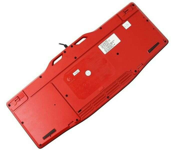 Imagen producto Logitech G105- Teclado para videojuegos de ordenador. 7