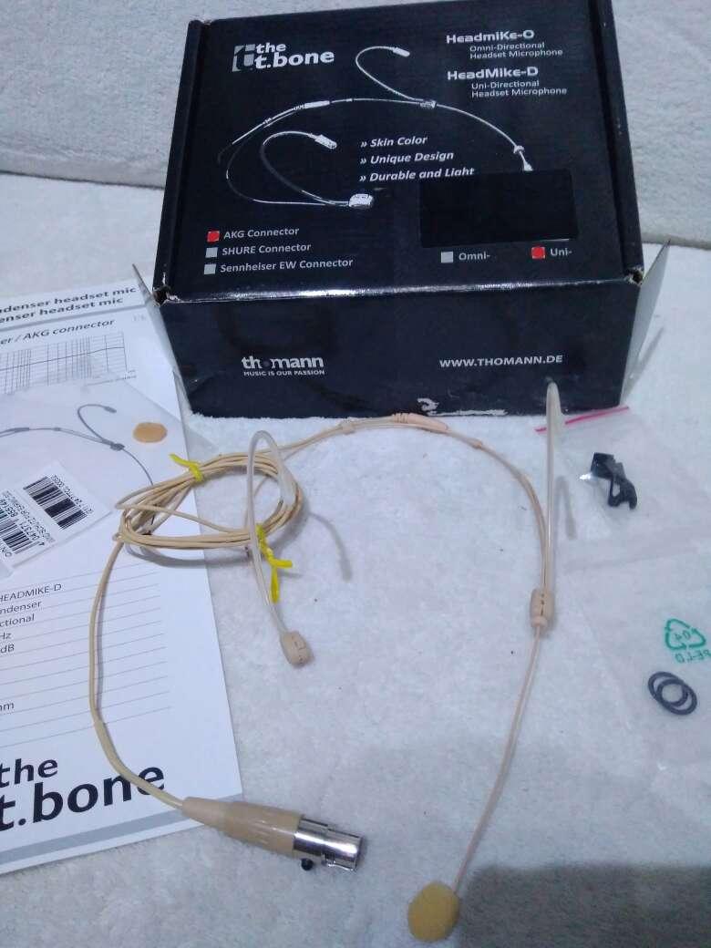 Imagen producto Micrófono de condensador de diadema. 2