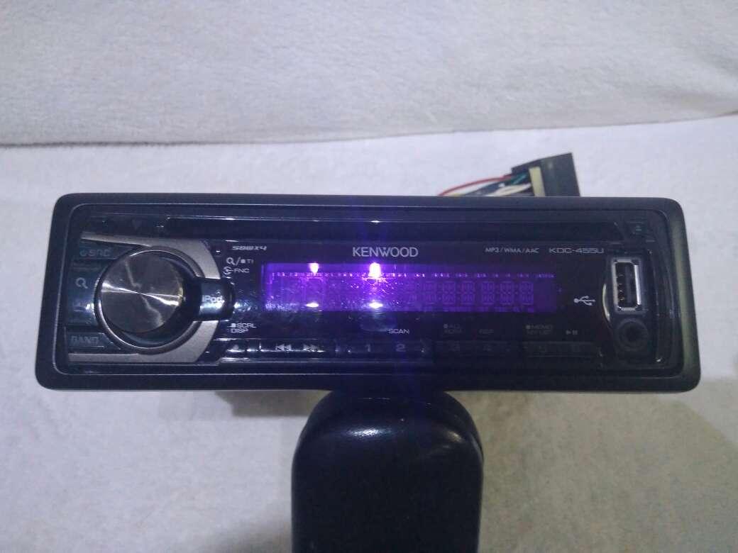 Imagen producto Radio CD Coche KENWOOD KDC-455UW 9