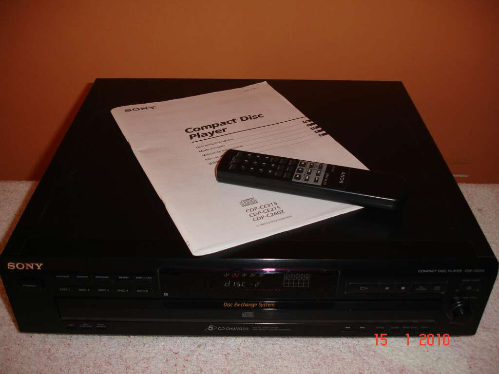 Imagen producto Compact disculpa Player SDP-CE315 SONY 6