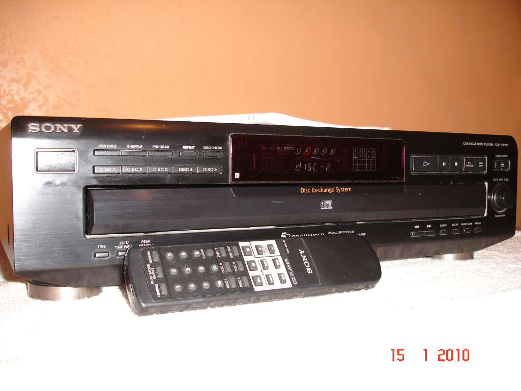 Imagen producto Compact disculpa Player SDP-CE315 SONY 1