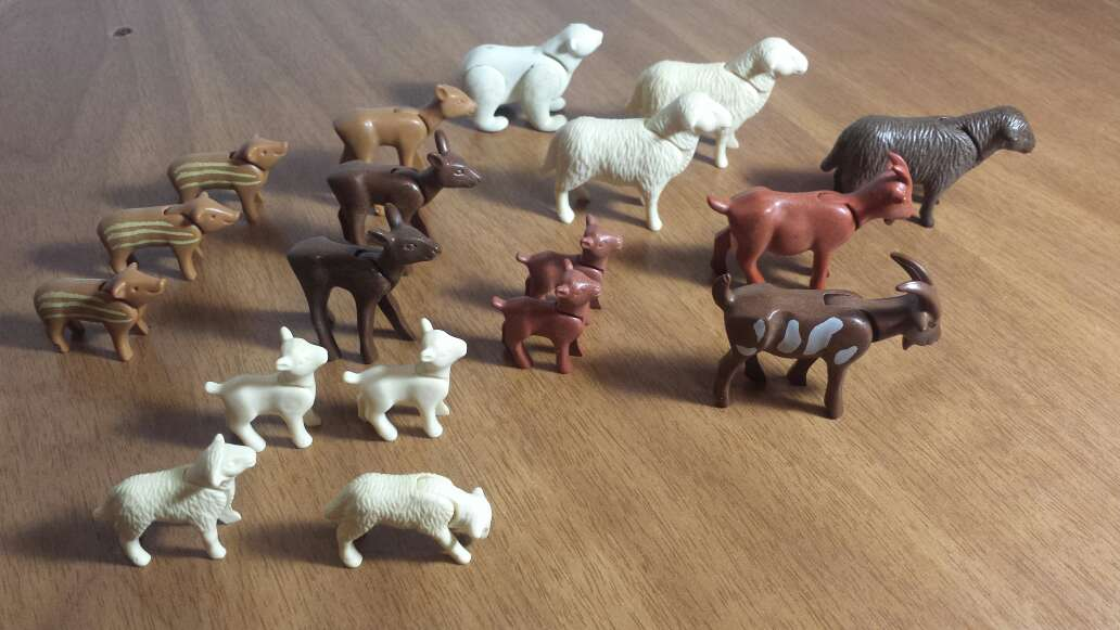 Imagen producto Animales granja playmobil  5