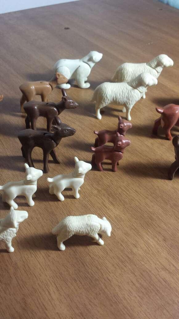 Imagen animales granja playmobil