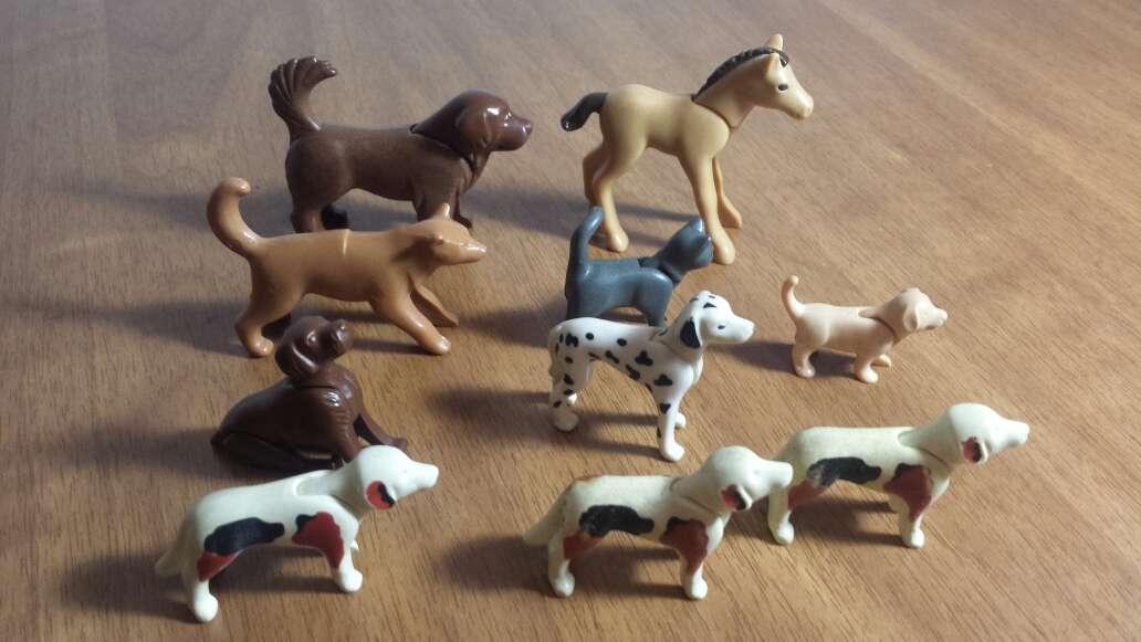 Imagen producto Perros gatos playmobil  2