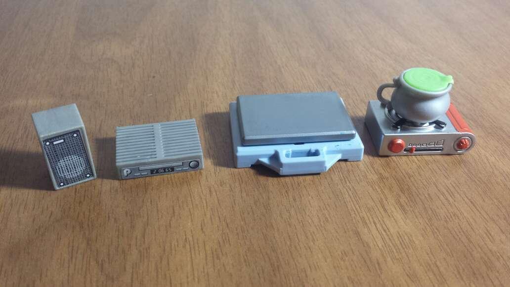 Imagen producto Barbas y aparatos playmobil  8