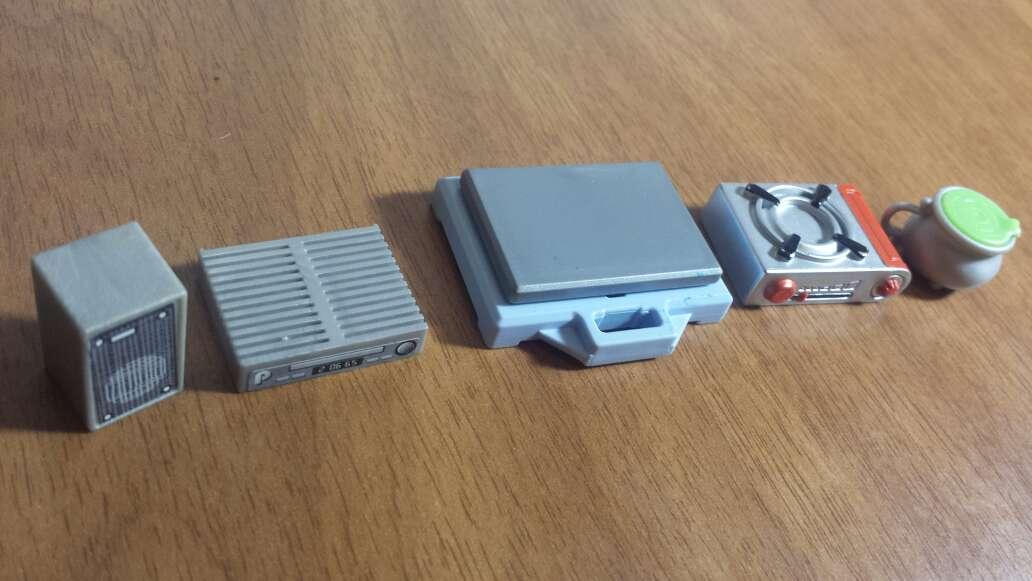Imagen producto Barbas y aparatos playmobil  6
