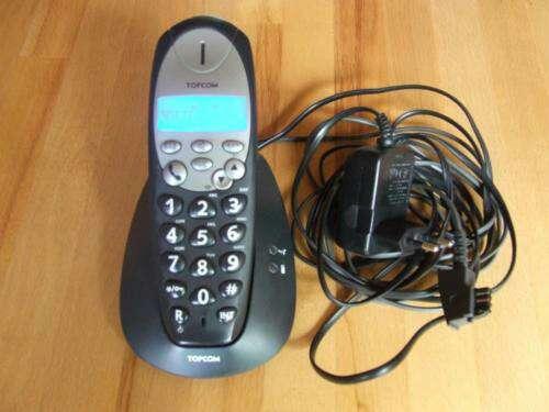 Imagen producto Teléfono inalámbrico Topcom Butler 800 para personas mayores. 9