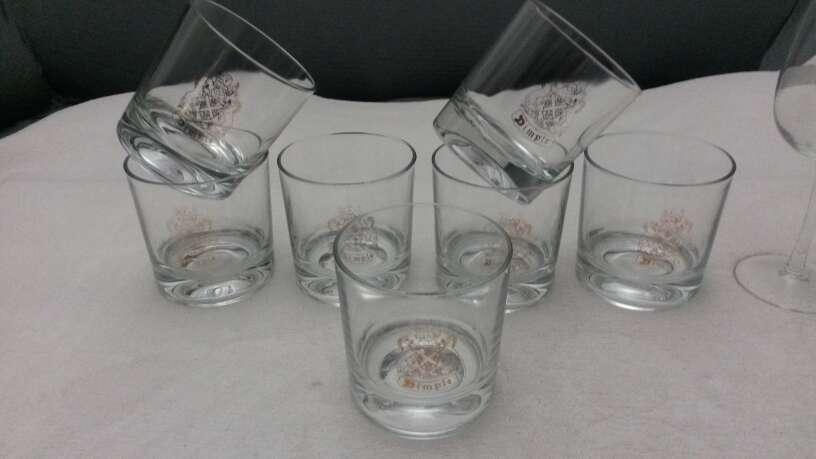 Imagen producto Lote vasos de whisky & copias vino Osborne solaz 8