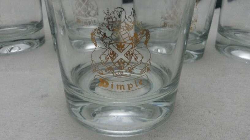 Imagen producto Lote vasos de whisky & copias vino Osborne solaz 7