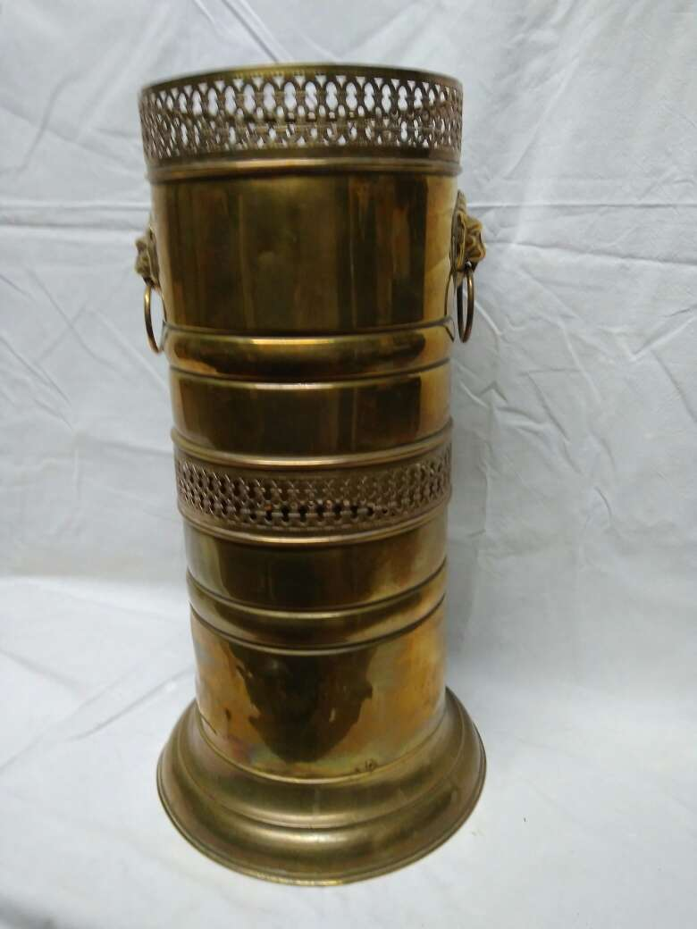 Imagen producto Paragüero de bronce rejilla 2