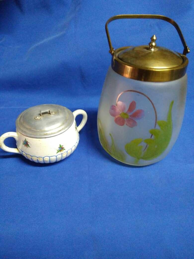 Imagen producto Lote de 2 piezas decoración antiguo 8