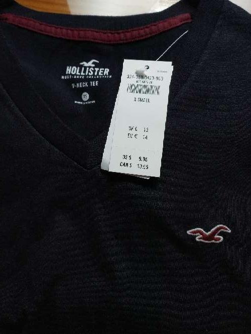 Imagen producto Camisetas Hollister nuevas 7
