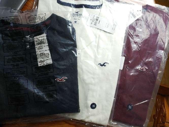 Imagen producto Camisetas Hollister nuevas 8