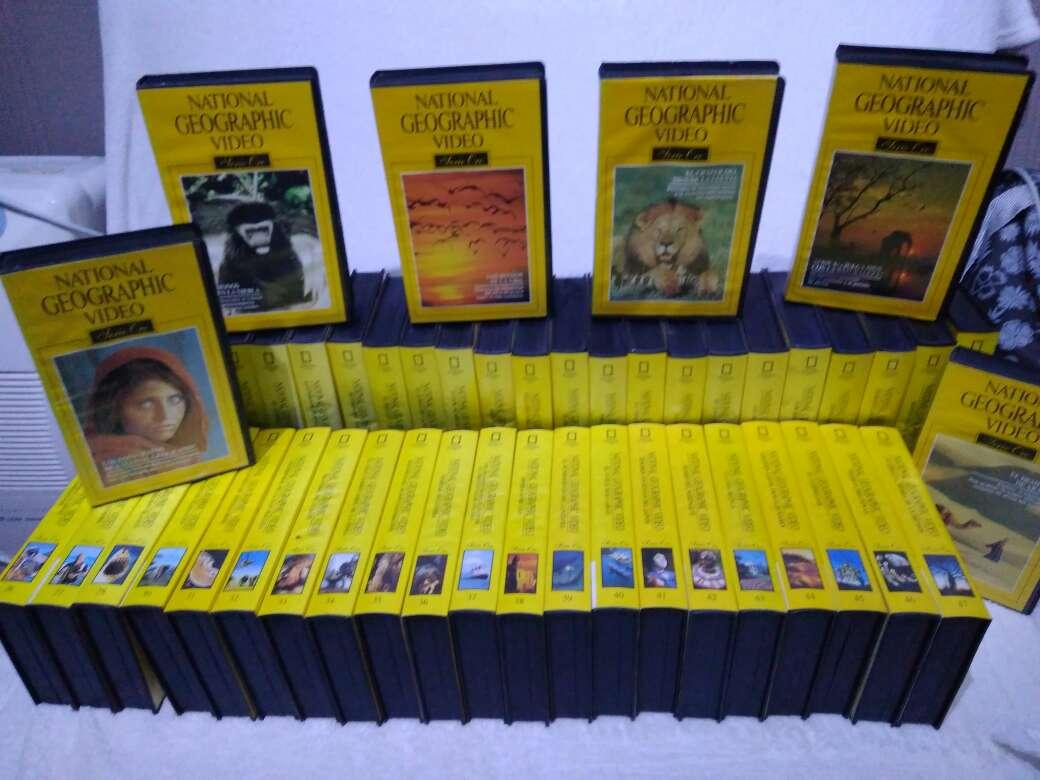 Imagen 50 Vídeos VHS National Geographic