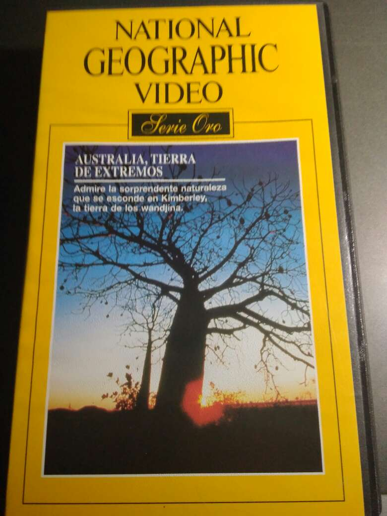 Imagen producto 50 Vídeos VHS National Geographic 2