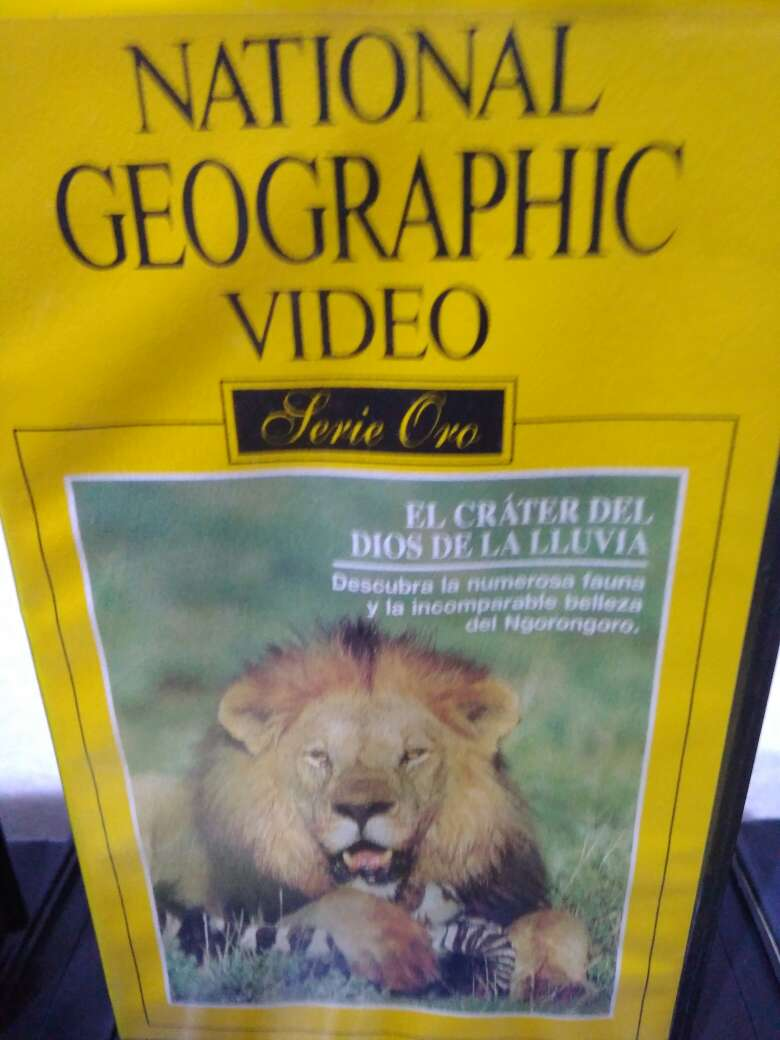 Imagen producto 50 Vídeos VHS National Geographic 10