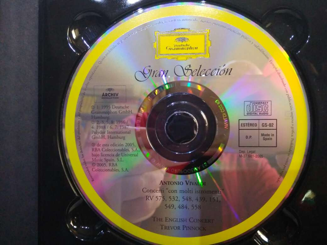 Imagen producto 2 CD VIVALDI 4