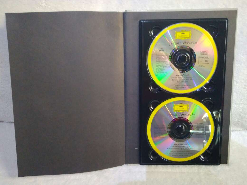 Imagen producto 2 CD VIVALDI 8