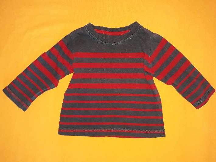 Imagen Camiseta bebé rayas, 6-9 meses