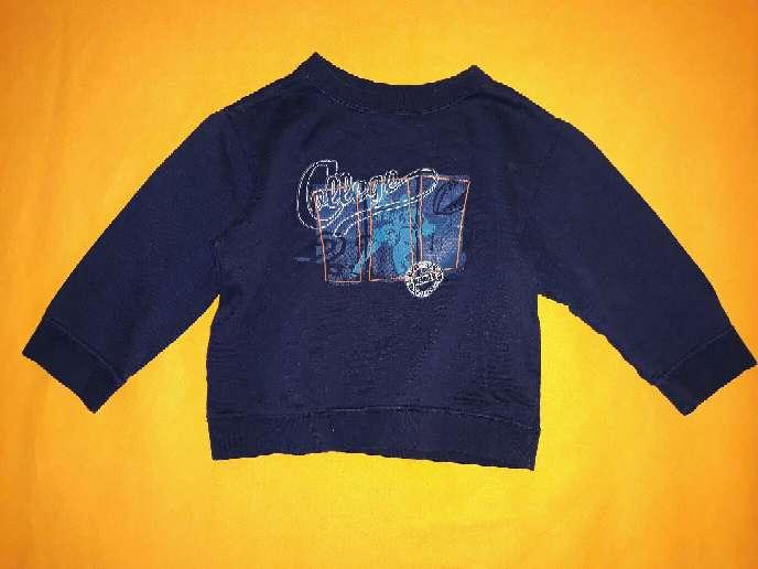 Imagen producto Sudadera niño azul, 24m.  1