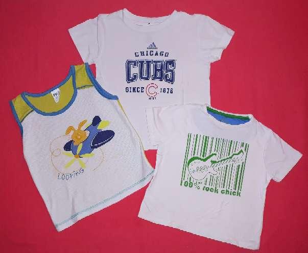 Imagen 3 camisetas de niño, 3 años