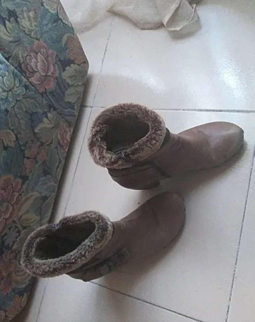 Imagen botas de pelo